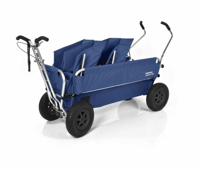 Rambler Explorer 120 (für 7 Kinder) - 2 Duo-Babysitze + Trittbrett 19