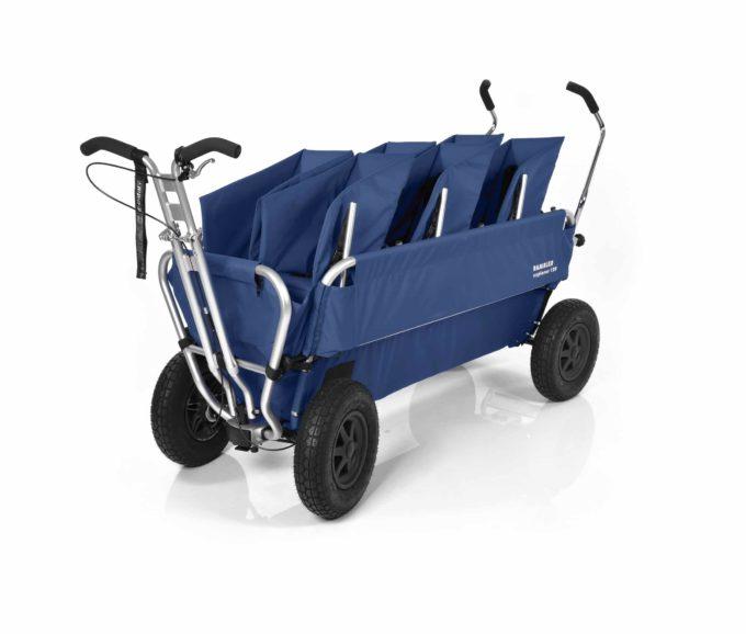 Rambler Explorer 120 (für 7 Kinder) - 3 Duo-Babysitze + Trittbrett 18