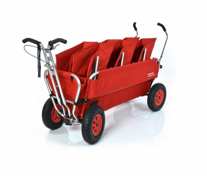 Rambler Explorer 120 (für 7 Kinder) - 3 Duo-Babysitze + Trittbrett 1