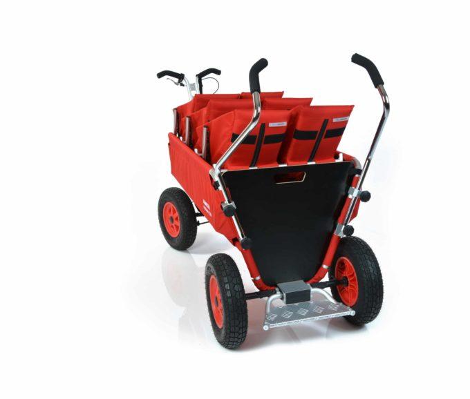 Rambler Explorer 120 (für 7 Kinder) - 3 Duo-Babysitze + Trittbrett 12