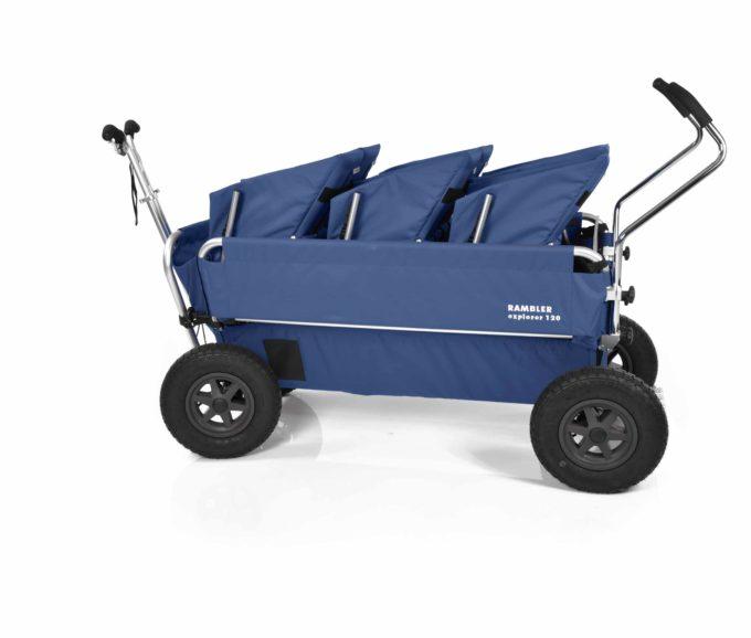 Rambler Explorer 120 (für 7 Kinder) - 3 Duo-Babysitze + Trittbrett 34