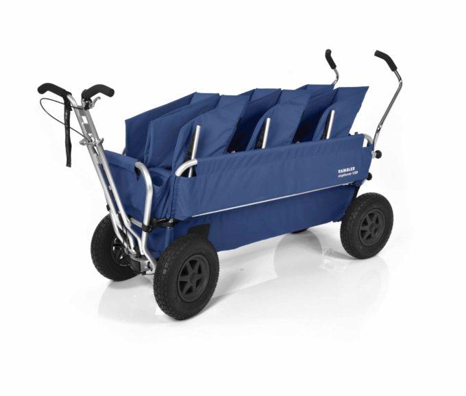 Rambler Explorer 120 (für 7 Kinder) - 3 Duo-Babysitze + Trittbrett 19