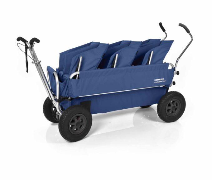 Rambler Explorer 120 (für 7 Kinder) - 3 Duo-Babysitze + Trittbrett 20