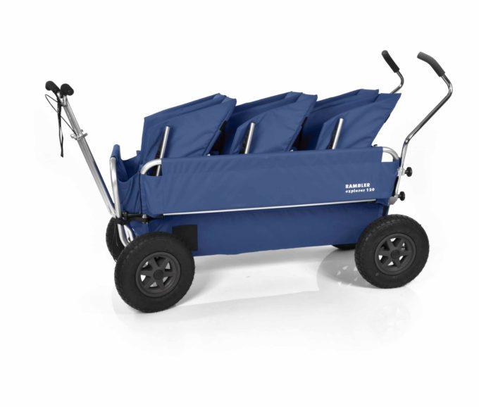 Rambler Explorer 120 (für 7 Kinder) - 3 Duo-Babysitze + Trittbrett 21