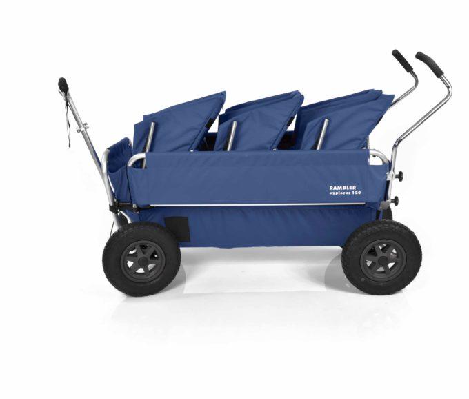 Rambler Explorer 120 (für 7 Kinder) - 3 Duo-Babysitze + Trittbrett 22