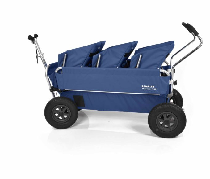 Rambler Explorer 120 (für 7 Kinder) - 3 Duo-Babysitze + Trittbrett 23