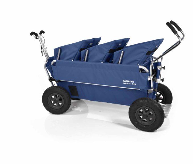 Rambler Explorer 120 (für 7 Kinder) - 3 Duo-Babysitze + Trittbrett 24