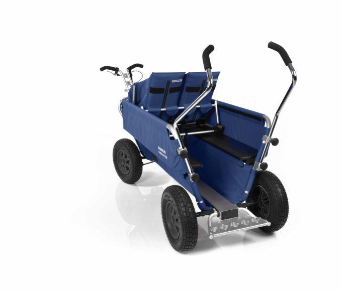 Rambler Explorer 120 - 1 Duo-Babysitz + 1 Kindersitz + Trittbrett 26
