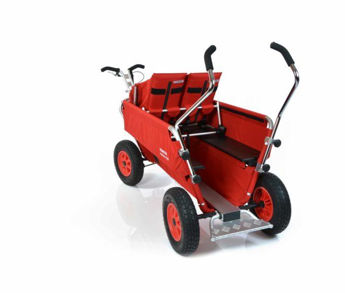 Rambler Explorer 120 - 1 Duo-Babysitz + 1 Kindersitz + Trittbrett 10