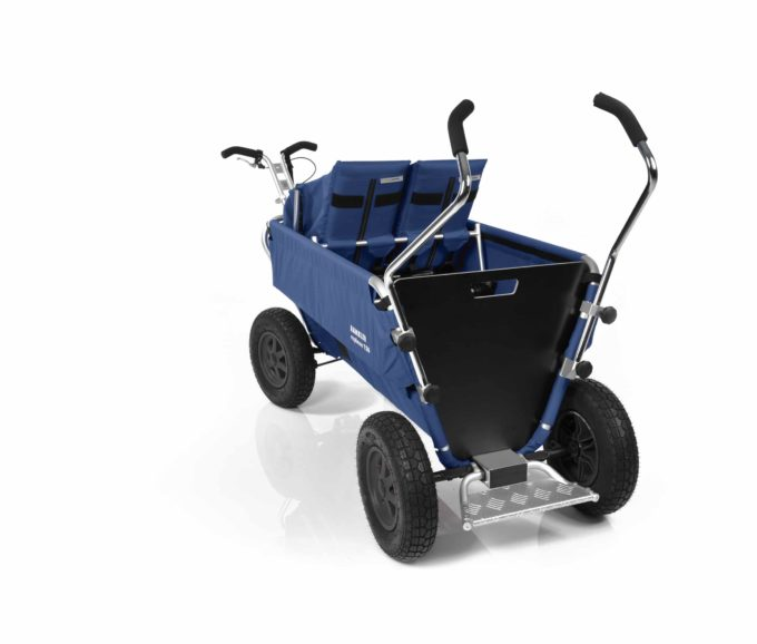 Rambler Explorer 120 - 1 Duo-Babysitz + 1 Kindersitz + Trittbrett 27