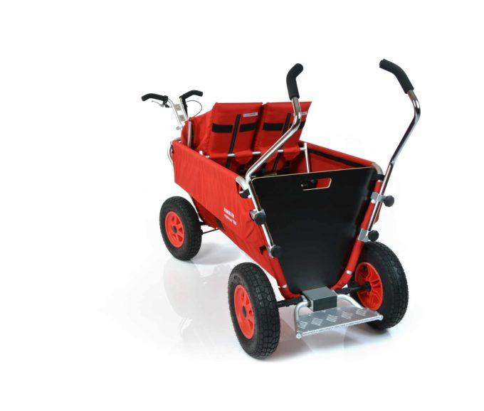 Rambler Explorer 120 - 1 Duo-Babysitz + 1 Kindersitz + Trittbrett 11