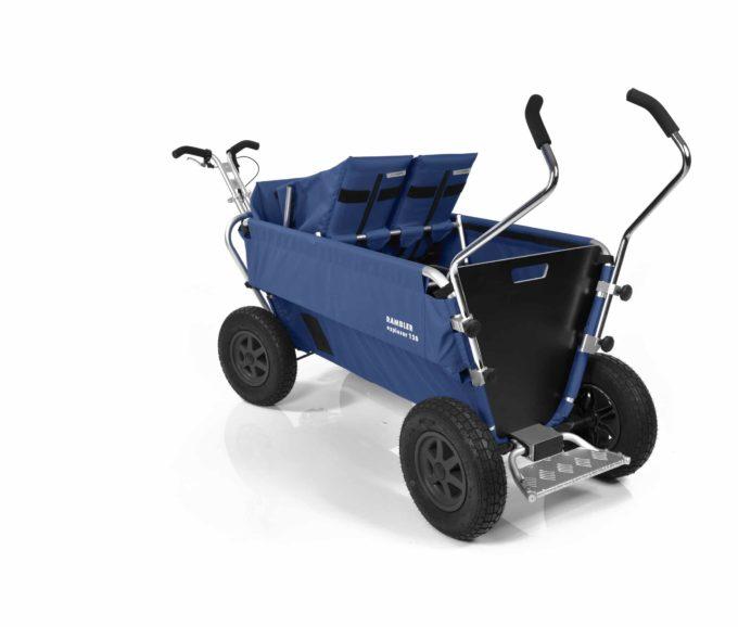 Rambler Explorer 120 - 1 Duo-Babysitz + 1 Kindersitz + Trittbrett 28