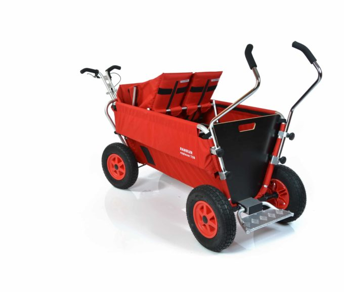 Rambler Explorer 120 - 1 Duo-Babysitz + 1 Kindersitz + Trittbrett 12