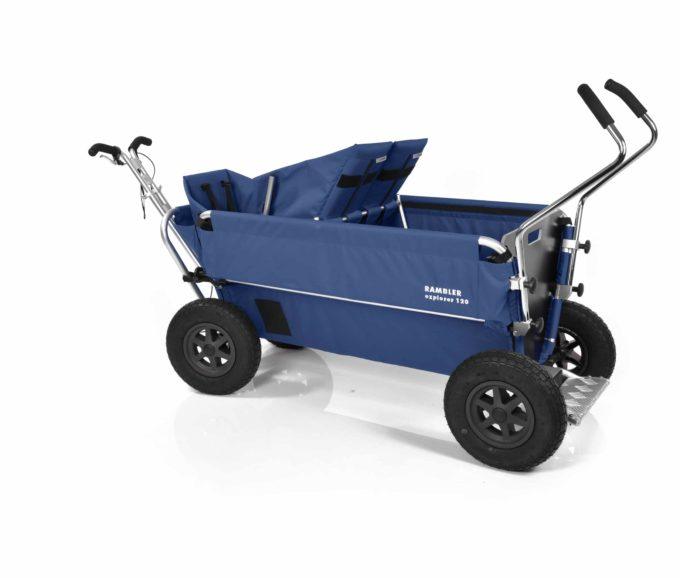 Rambler Explorer 120 - 1 Duo-Babysitz + 1 Kindersitz + Trittbrett 30