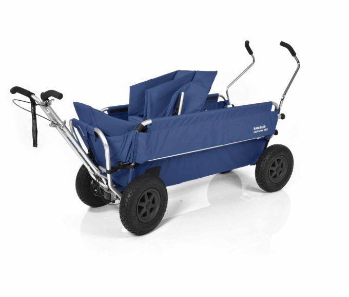 Rambler Explorer 120 - 1 Duo-Babysitz + 1 Kindersitz + Trittbrett 18