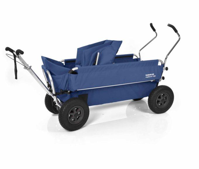 Rambler Explorer 120 - 1 Duo-Babysitz + 1 Kindersitz + Trittbrett 19