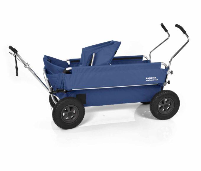 Rambler Explorer 120 - 1 Duo-Babysitz + 1 Kindersitz + Trittbrett 20