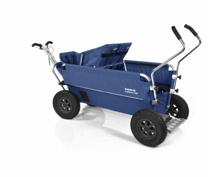 Rambler Explorer 120 - 1 Duo-Babysitz + 1 Kindersitz + Trittbrett 24
