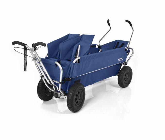 Rambler Explorer 120 (für 7 Kinder) - 1 Duo-Babysitz + 1 Kindersitz + hinterer Rahmen 12
