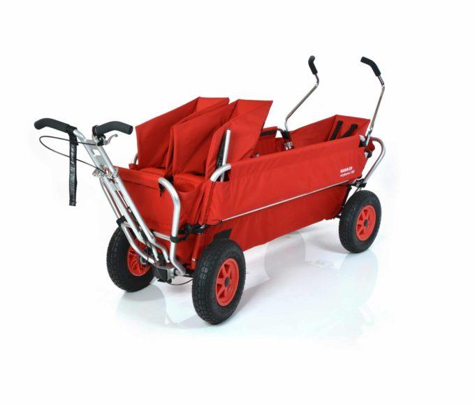 Rambler Explorer 120 (für 7 Kinder) - 1 Duo-Babysitz + 1 Kindersitz + hinterer Rahmen 1