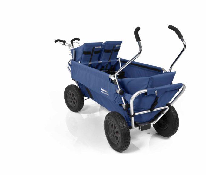 Rambler Explorer 120 (für 7 Kinder) - 1 Duo-Babysitz + 1 Kindersitz + hinterer Rahmen 21