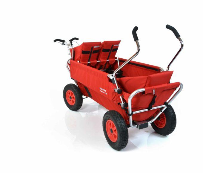 Rambler Explorer 120 (für 7 Kinder) - 1 Duo-Babysitz + 1 Kindersitz + hinterer Rahmen 10