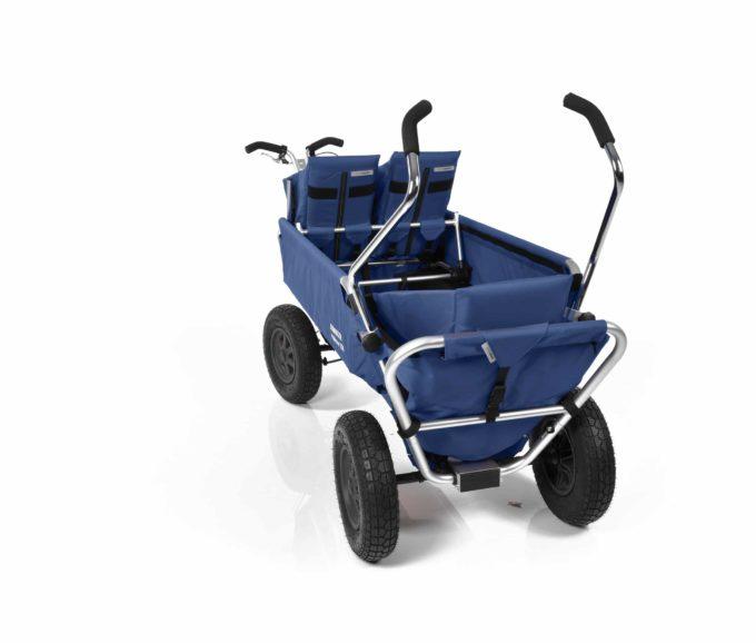Rambler Explorer 120 (für 7 Kinder) - 1 Duo-Babysitz + 1 Kindersitz + hinterer Rahmen 22