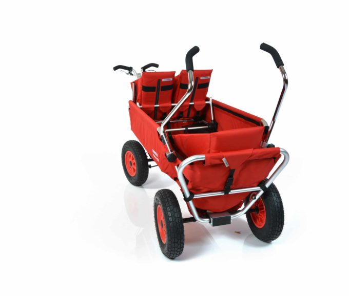 Rambler Explorer 120 (für 7 Kinder) - 1 Duo-Babysitz + 1 Kindersitz + hinterer Rahmen 11