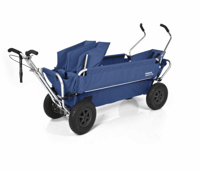 Rambler Explorer 120 (für 7 Kinder) - 1 Duo-Babysitz + 1 Kindersitz + hinterer Rahmen 13