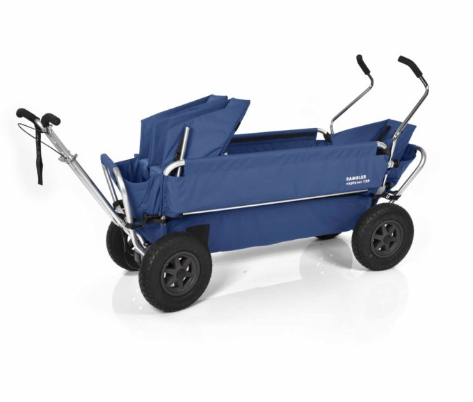 Rambler Explorer 120 (für 7 Kinder) - 1 Duo-Babysitz + 1 Kindersitz + hinterer Rahmen 14