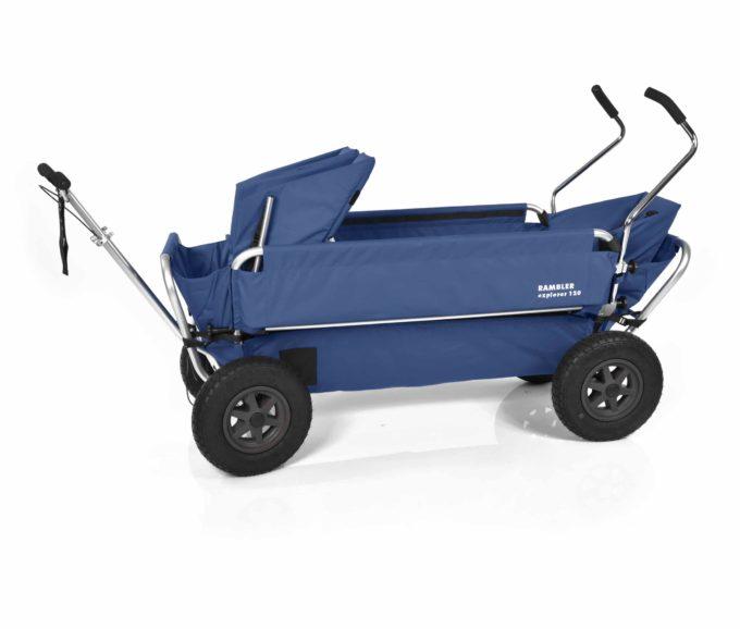 Rambler Explorer 120 (für 7 Kinder) - 1 Duo-Babysitz + 1 Kindersitz + hinterer Rahmen 15
