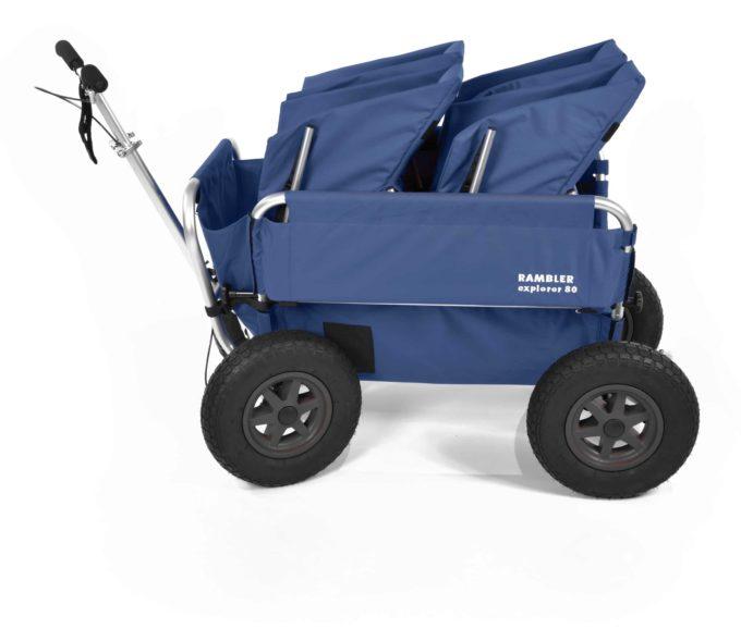 Rambler Explorer 80 - 2 Duo-Babysitze + Trittbrett 19