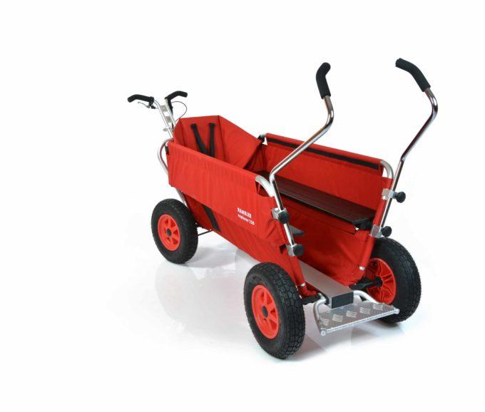 Rambler Explorer 120 (für 11 Kinder) - 1 Kindersitz + Trittbrett 10