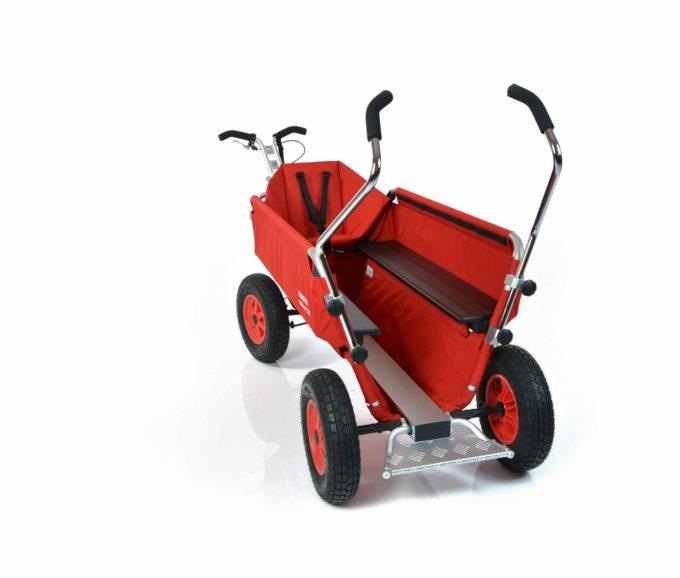 Rambler Explorer 120 (für 11 Kinder) - 1 Kindersitz + Trittbrett 11