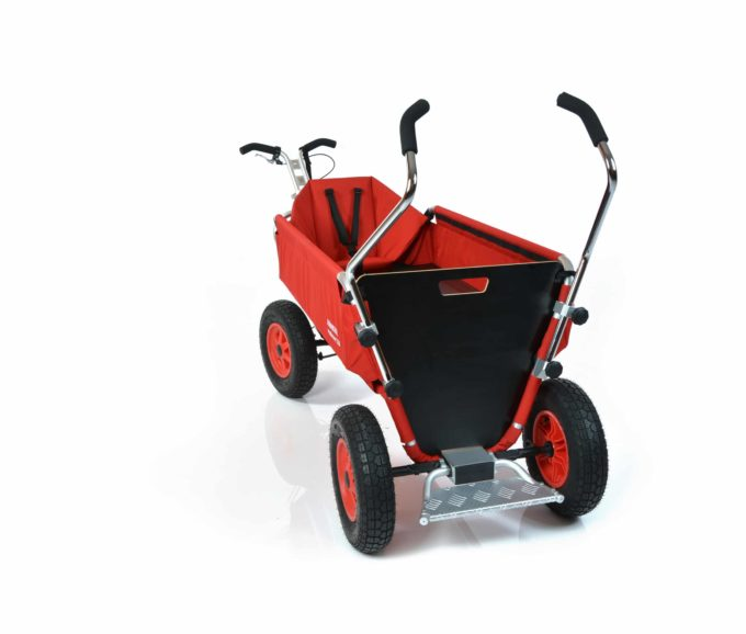 Rambler Explorer 120 (für 11 Kinder) - 1 Kindersitz + Trittbrett 12