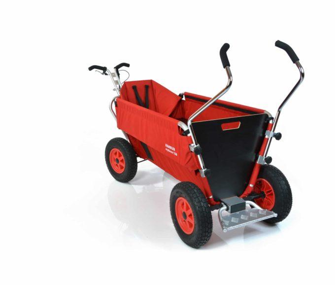 Rambler Explorer 120 (für 11 Kinder) - 1 Kindersitz + Trittbrett 13