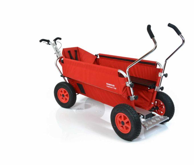 Rambler Explorer 120 (für 11 Kinder) - 1 Kindersitz + Trittbrett 9