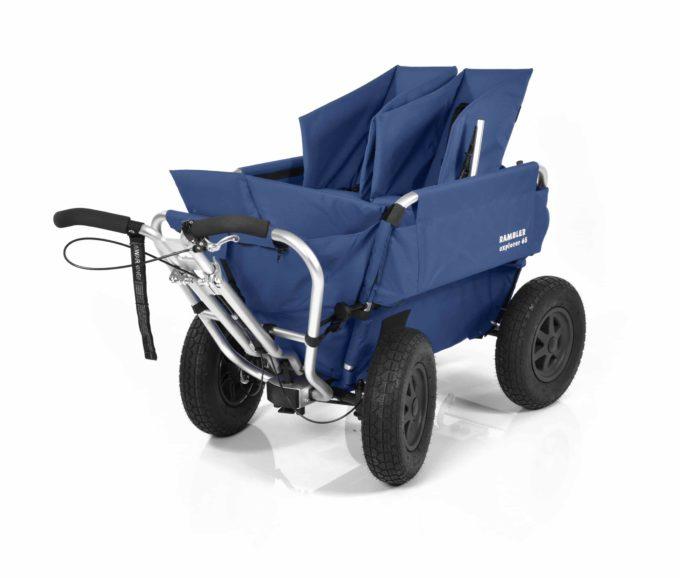 Rambler Explorer 65 (für 4 Kinder) + 1 Kindersitz + 1 Duo-Babysitz + Trittbrett 3