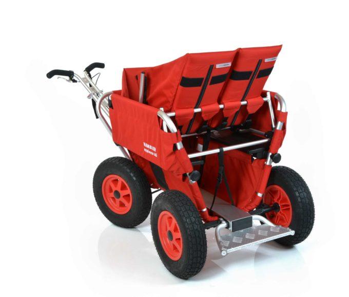 Rambler Explorer 65 + Kindersitz + Duo-Babysitz + Trittbrett 28