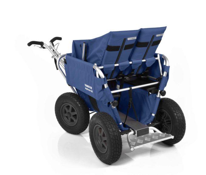 Rambler Explorer 65 + Kindersitz + Duo-Babysitz + Trittbrett 12