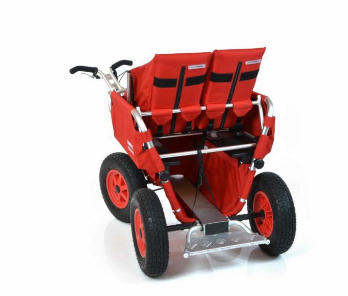 Rambler Explorer 65 + Kindersitz + Duo-Babysitz + Trittbrett 29