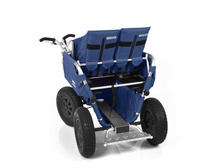 Rambler Explorer 65 + Kindersitz + Duo-Babysitz + Trittbrett 13