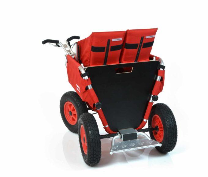 Rambler Explorer 65 + Kindersitz + Duo-Babysitz + Trittbrett 30
