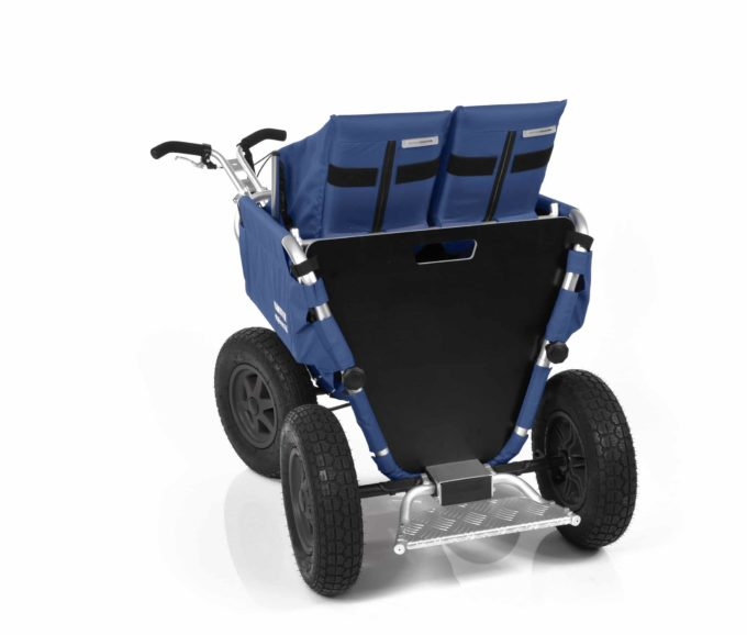 Rambler Explorer 65 + Kindersitz + Duo-Babysitz + Trittbrett 14