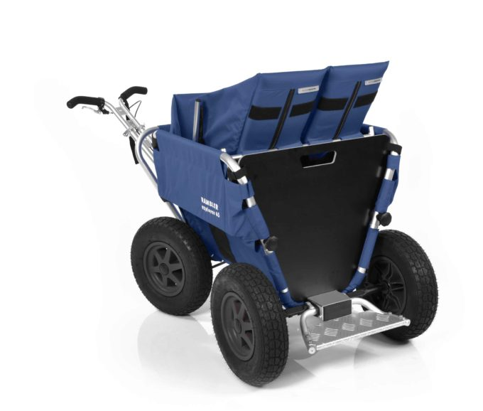 Rambler Explorer 65 + Kindersitz + Duo-Babysitz + Trittbrett 15