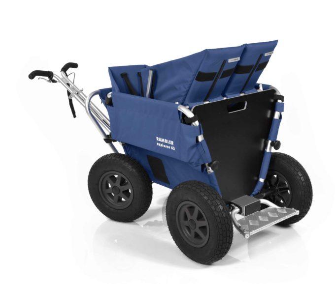 Rambler Explorer 65 + Kindersitz + Duo-Babysitz + Trittbrett 16