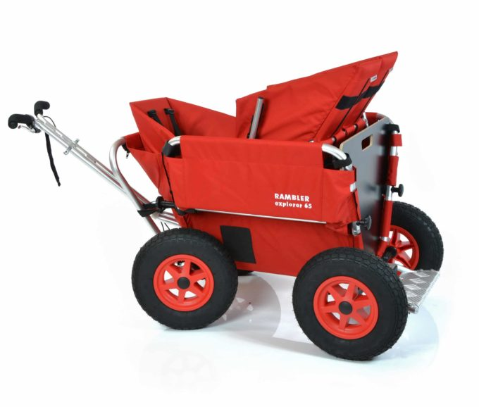 Rambler Explorer 65 + Kindersitz + Duo-Babysitz + Trittbrett 18