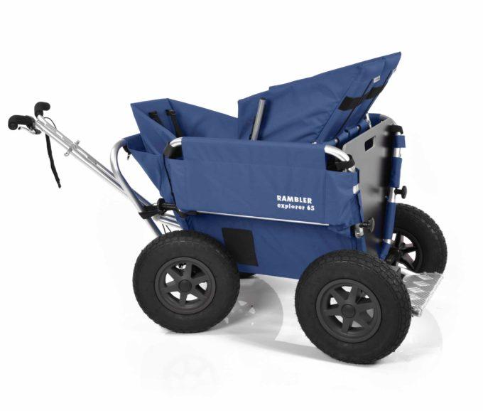 Rambler Explorer 65 (für 4 Kinder) + 1 Kindersitz + 1 Duo-Babysitz + Trittbrett 2