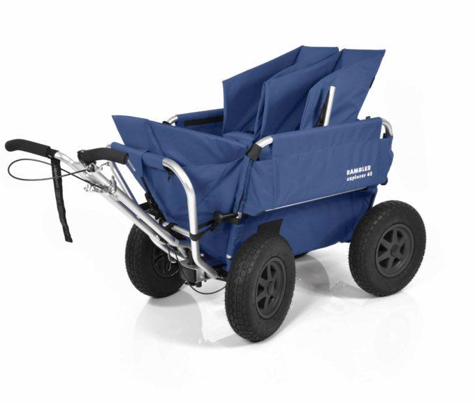 Rambler Explorer 65 (für 4 Kinder) + 1 Kindersitz + 1 Duo-Babysitz + Trittbrett 4