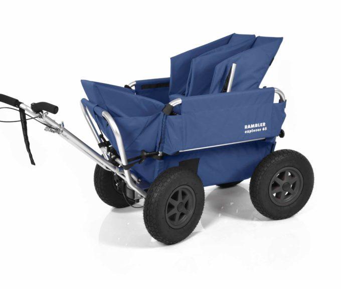 Rambler Explorer 65 + Kindersitz + Duo-Babysitz + Trittbrett 5